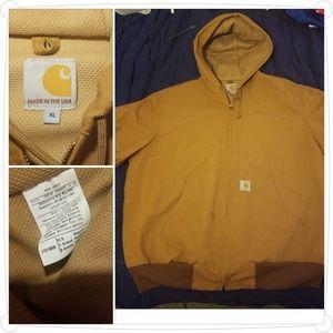 Carhartt Mens Work Jacket.. sz XL Lined